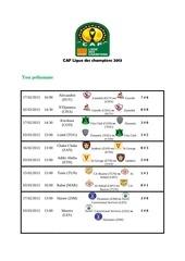 caf ligue des champions 2013