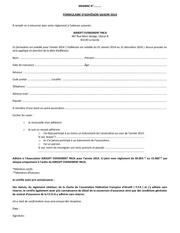 Fichier PDF formulaire adhEsion 2014