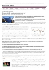 france holds back eurozone recovery ft