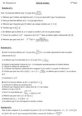 serie de revision bac math