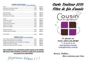 menu de fetes 2013 1