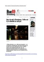 reactions et commentaires a l article de rue 89