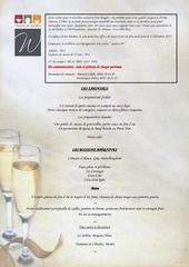 menu nouvel an