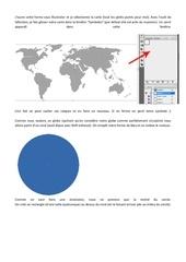 Fichier PDF terre en 3d