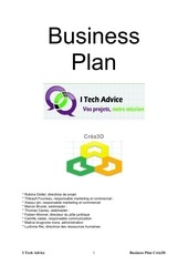 Fichier PDF business plan