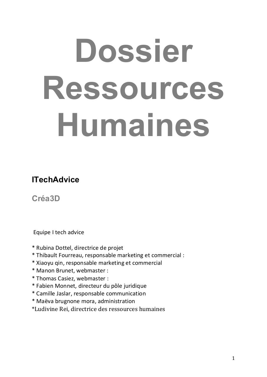 Dossier Ressources Humaines.pdf - page 1/17