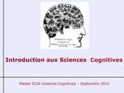 introduction au sciences cognitives