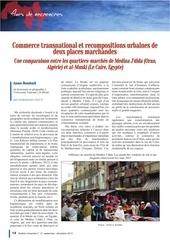 le commerce transnational