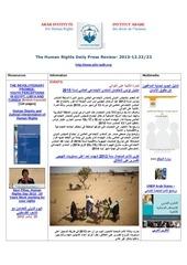 aihr iadh human rights press review 2013 12 23