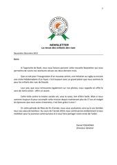 newsletter french nov dec 2013