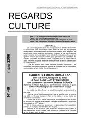 Fichier PDF regard culture n 40