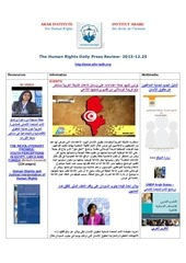 Fichier PDF aihr iadh human rights press review 2013 12 25