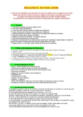 Fichier PDF reglement hunter loisir 2