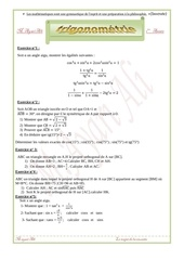 trigonometrie 1ere annee 1