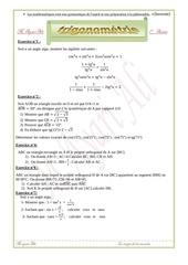 trigonometrie 1ere annee