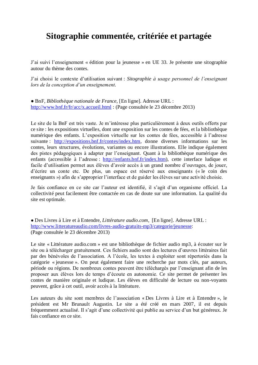 Sitographie-CADET.pdf - page 1/2