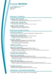 Fichier PDF copie de cv meurou francois cv 2 874378 190db0