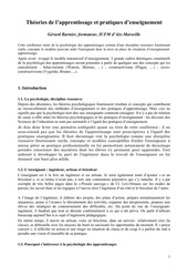 Fichier PDF theories apprentissage