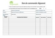 Fichier PDF bon de commande pour site
