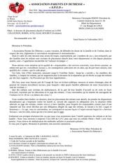 lettre commune pour cg 39