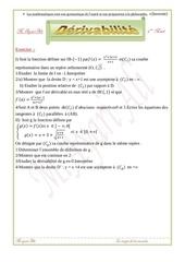 derivabilite 3eme math 1
