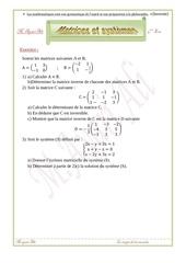 matrice et systeme 4eme eco 1