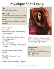 mystique shawl 209 page 1