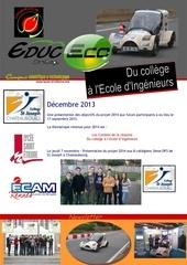 newsletter decembre 2013