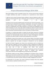 Fichier PDF projet d orientation politique 2014 2020