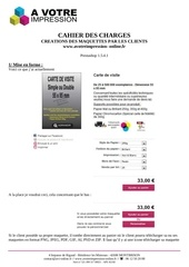 cahier des charges n 2 1