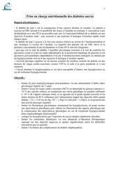Fichier PDF nutrition polycopie diabete physiopathologie prise en charge