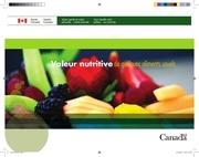 Fichier PDF valeurs nutritif de quelque aliment