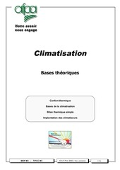 Fichier PDF bases climatisation
