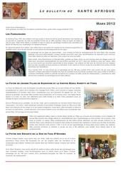 bulletin sante afrique 2012
