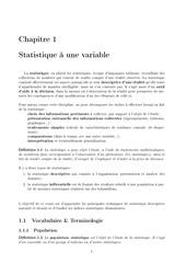 cours statistique eg
