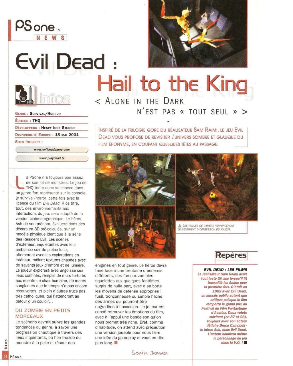 PSone News - Evil Dead.pdf par Koma-Code - Fichier PDF