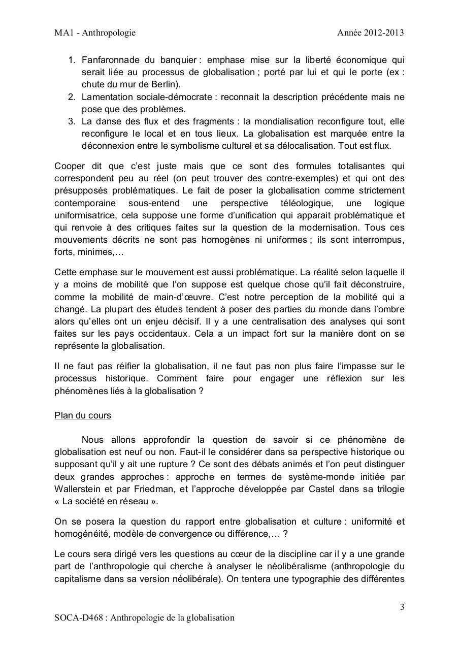 ULB - ANTHROPOLOGIE DE LA GLOBALISATION.pdf - page 3/77