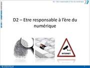 d2 responsable ere numerique 2013 2014