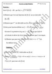 Fichier PDF exercice corrige primitive 1
