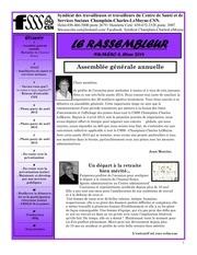 journal le rassembleur no 6 hiver 2014