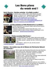 Fichier PDF les bons plans du week end semaine 2 3 2014