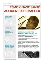 temoignage sante accident schumacher