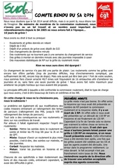 tract roulement sa 2014