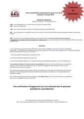 bulletin d engagement carole 2014