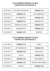 calendrier r1 2 r2 pre nat dames 2013 2014 ph2