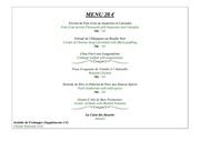 menu 28