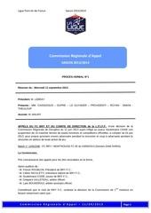 pv du 11 septembre 2013 appel