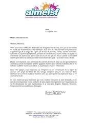 Fichier PDF lettre lots