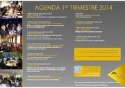 agenda 1er trimestre 2014