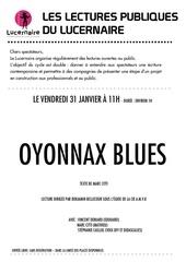oyonnax blues tract